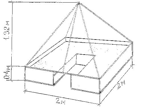 Теплица пирамида размеры своими руками