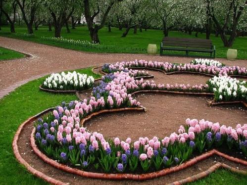 виды клумб как делать разные цветники самостоятельно